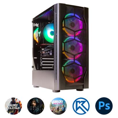 Компьютер Зеон для современных игр, систем проектирования, работы с фото [K83]